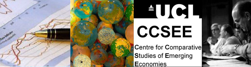 Call For Papers: First Conference of UCL Centre for Comparative Studies of Emerging Economies (CCSEE)